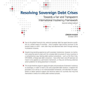 FES-Studie Resolving Sovereign Debt Crisis
